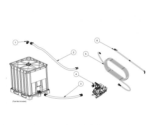 Tote Spray System Body Parts