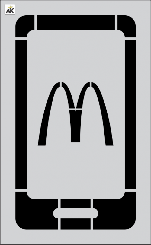 McDonald's 1 pc 42.75