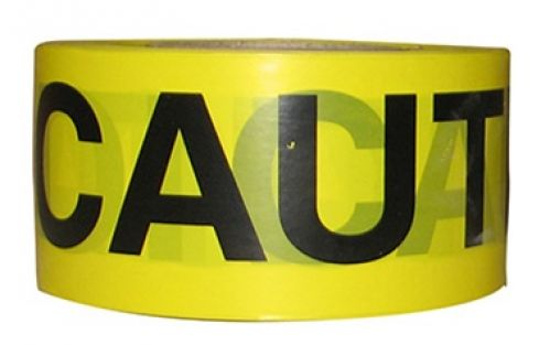 1000 Feet of Caution Tape Attention Ribbon