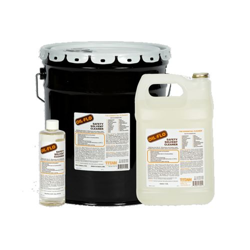 Titan Labs Oil-Flo Safety Solvent Cleaner
