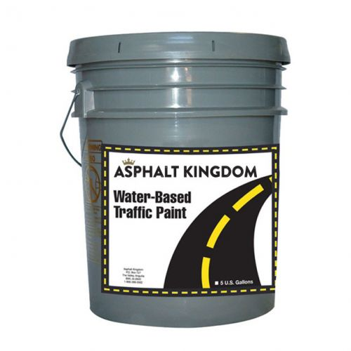 Water-Based Traffic and Marking Paint