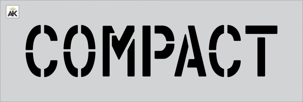"""6"""" COMPACT Stencil"""