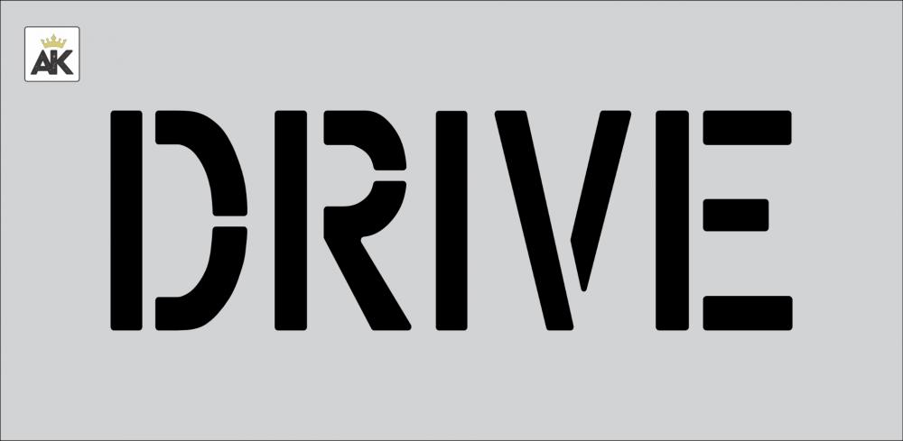 """6"""" DRIVE Stencil"""