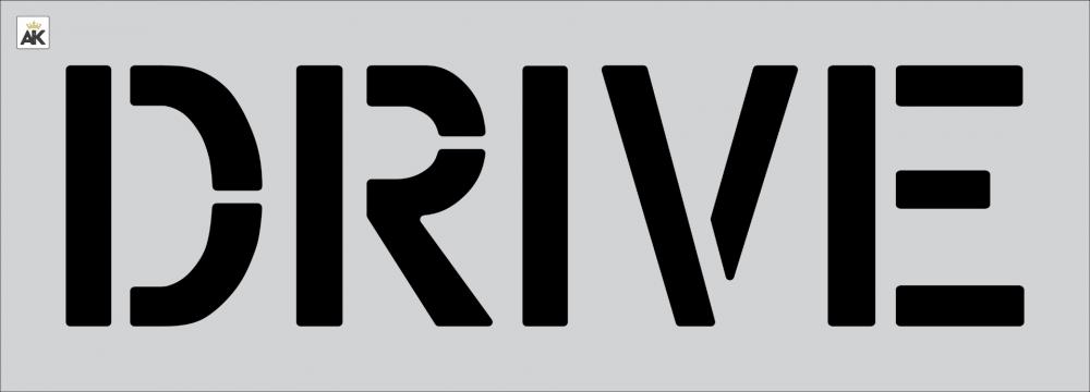 """12"""" DRIVE Stencil"""