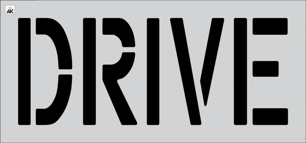 """18"""" DRIVE Stencil"""