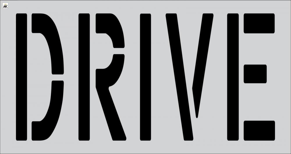 """24"""" DRIVE Stencil"""