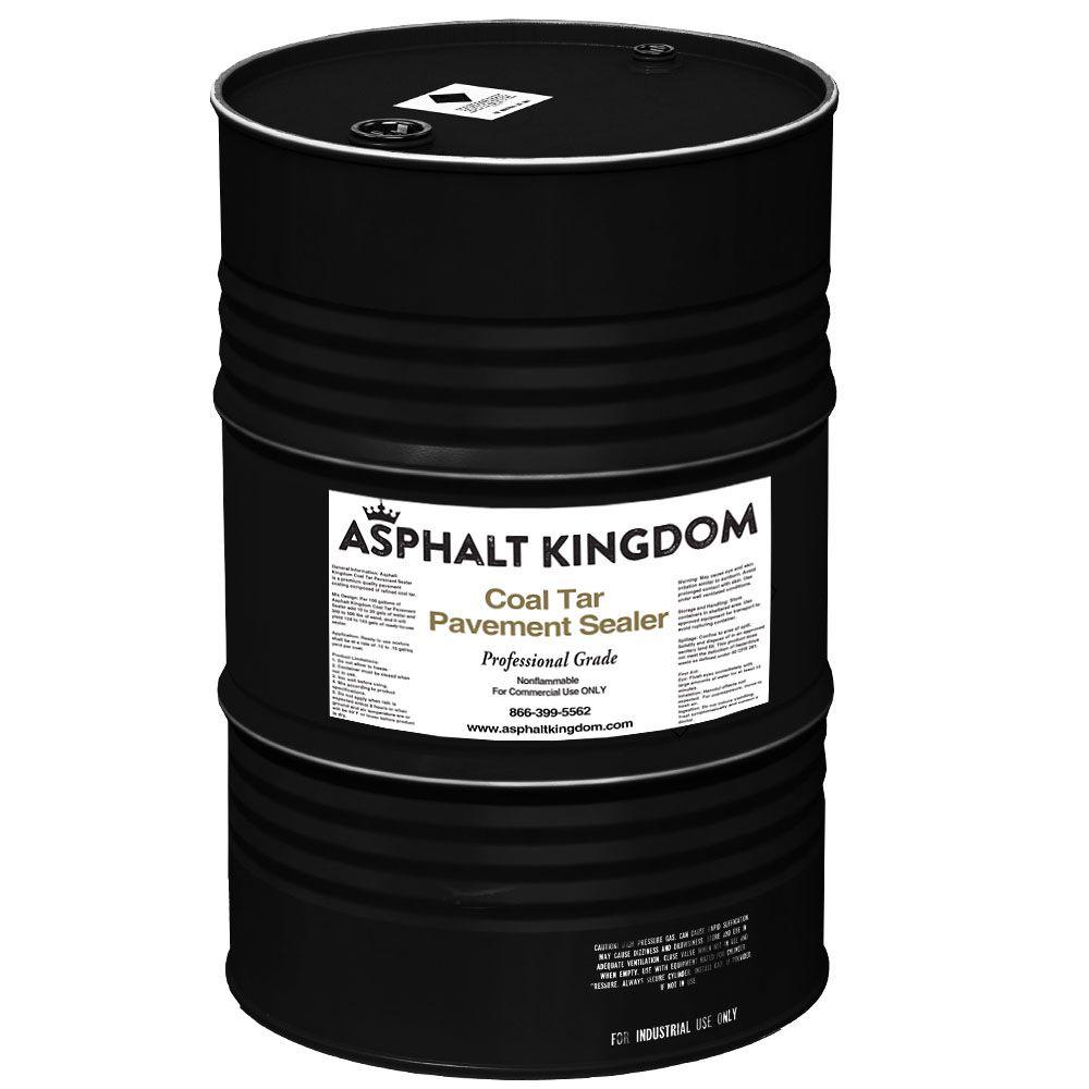 Drum of Coal Tar Sealer