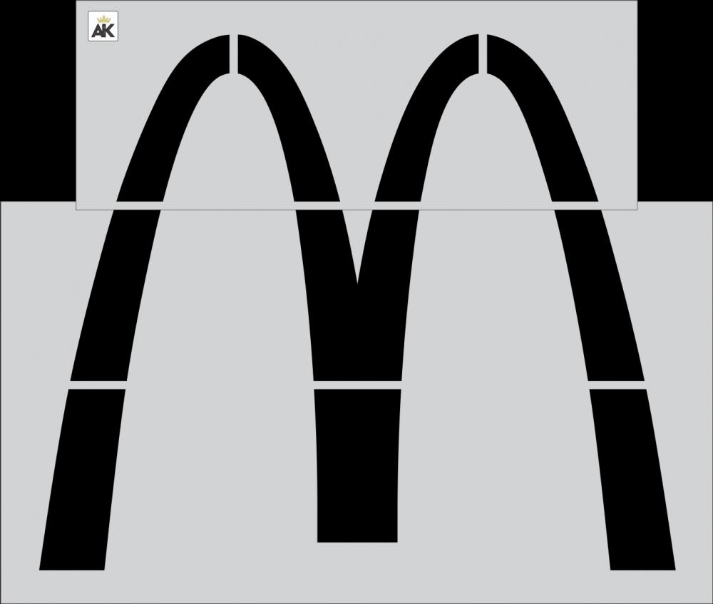 "McDonald's 64"" Arch"