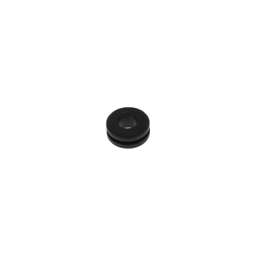 """SBR Rubber Push-In Grommet for 1/2"""" ID and 3/32"""""""