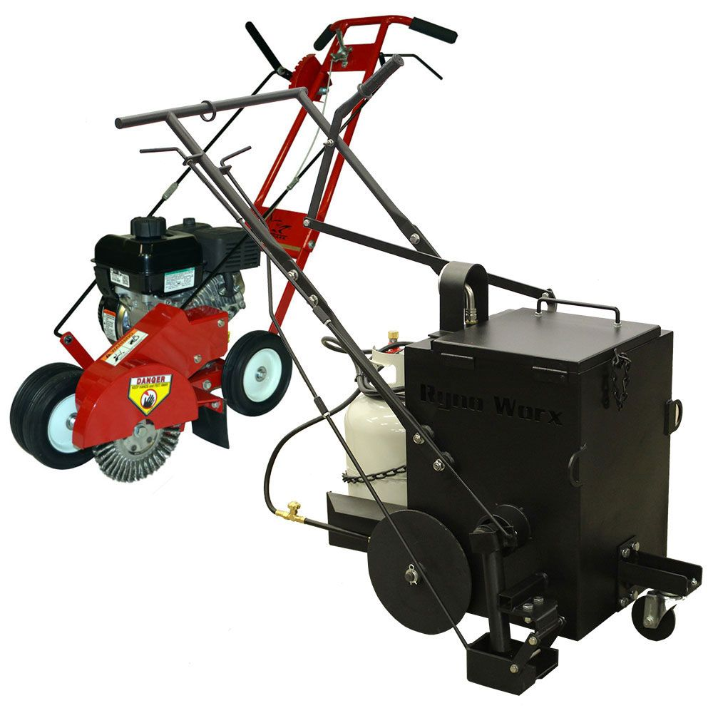 RY10 & Crack Cleaning Machine Combo