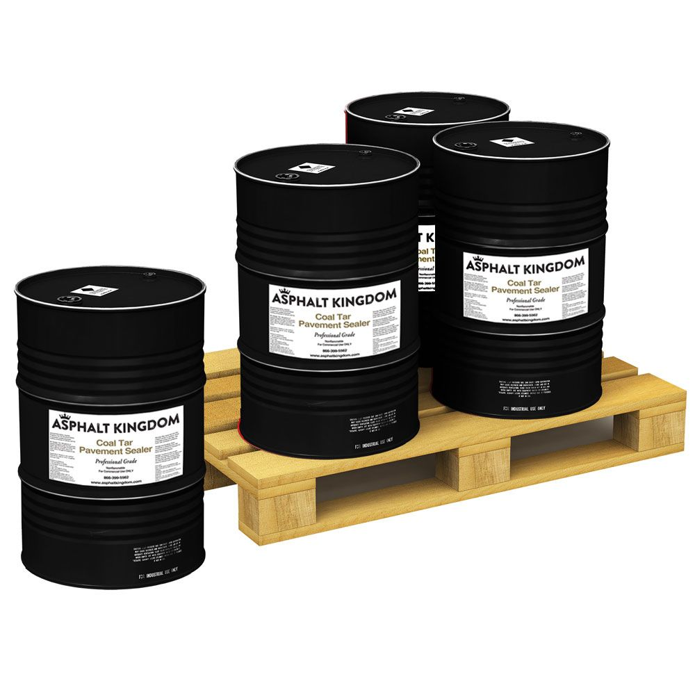 Coal Tar Sealer Skid (Four 55 Gallon Drums)