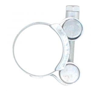 "3/4"" T-Bolt Hose Clamp, W1 Zinc Plated, 26-28 mm"