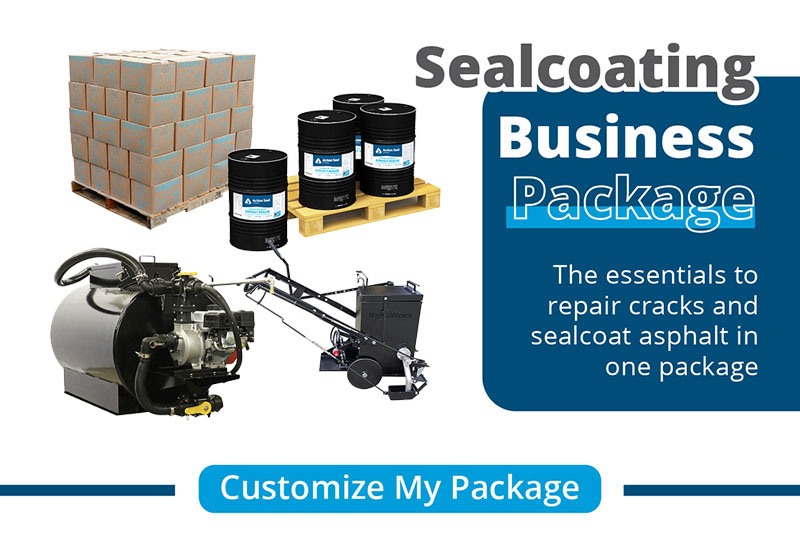 Sealcoating Business Package Banner