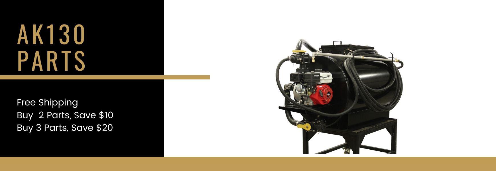 AK130 Spray System Parts