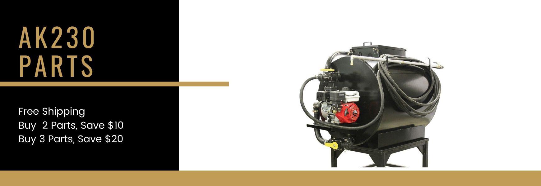 AK230 Spray System Parts